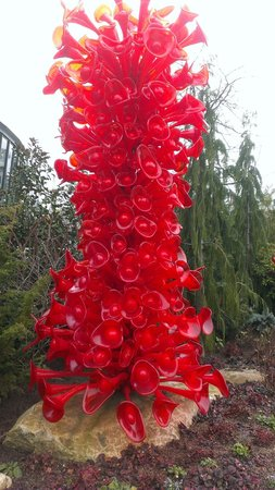 Chihuly Garden and Glass : red!
