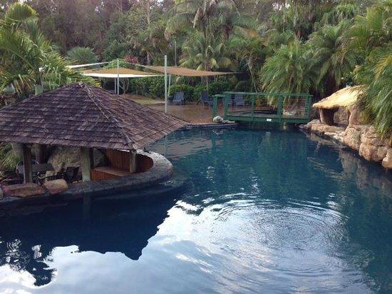 BreakFree Aanuka Beach Resort : Small portion of pool area