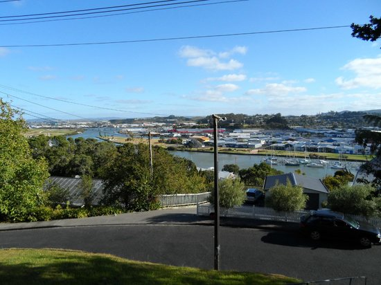 Honey Budget B & B 4 Backpackers: View from the BnB