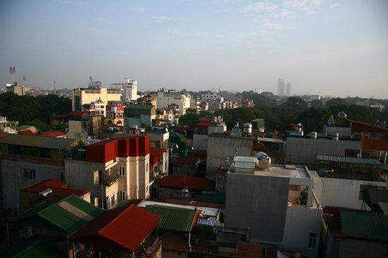 Lavish Centre Hotel: вид на Ханой