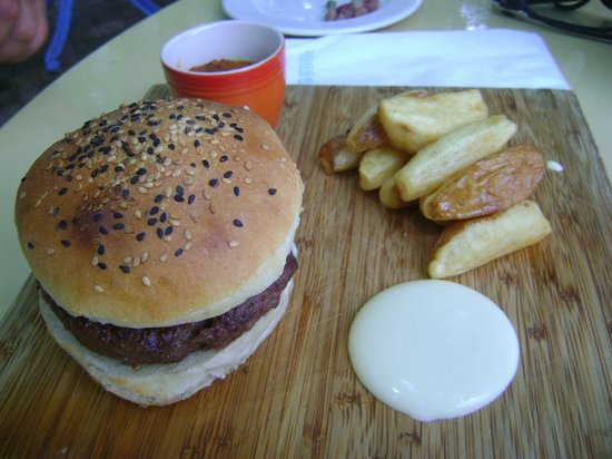 Bread and Wine: Wagu Burger