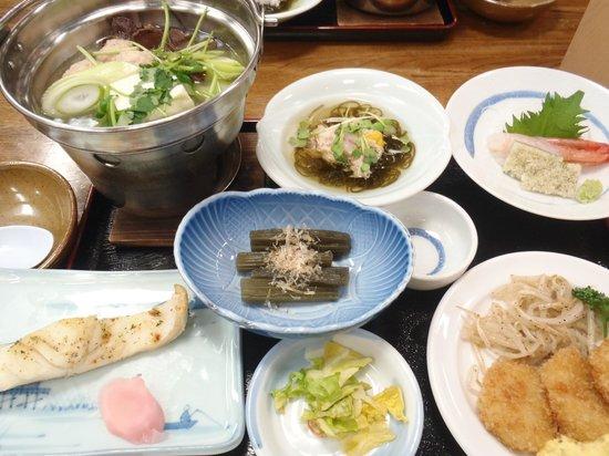 Sukayu Onsen Ryokan : 湯治プラン 夕食1日目