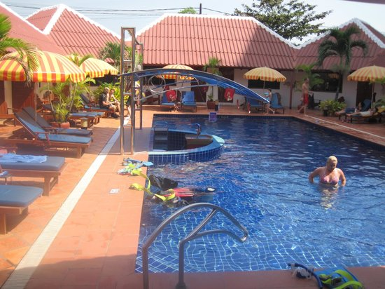 Orchidee Guest House : nice pool area