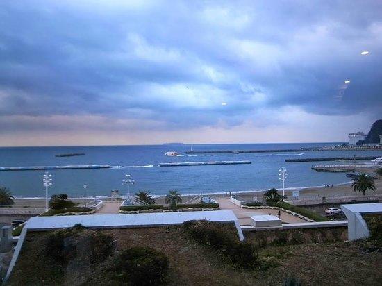 Atami Sun Beach: ホテルからの眺め