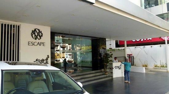 Escape Hotel & Spa: l'entrée