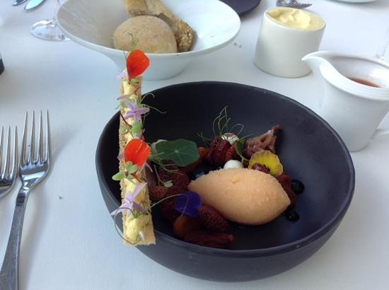 The Restaurant at Waterkloof: delight to the eye and palate