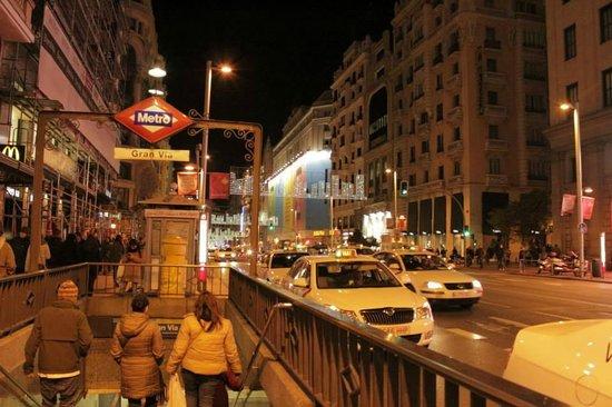 Hostal La Plata: En el corazon de Madrid