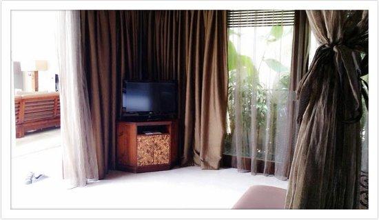 Mahagiri Villas Dreamland: TV In-Room