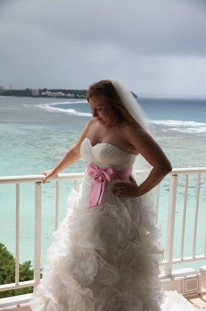 The Westin Resort Guam: На балконе