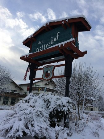 Der Ritterhof Inn: Fresh Snow 2