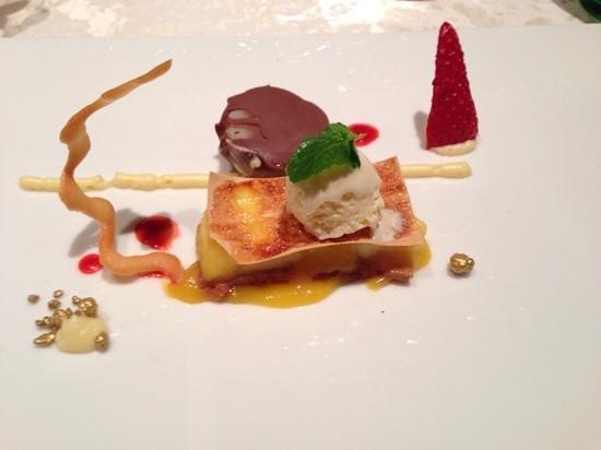 Stock Resort : dessert della cena di Gala