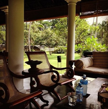 Nisala Arana Boutique Hotel: Relaxing at The Pavilion