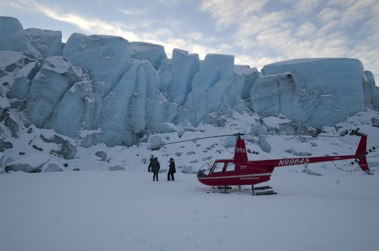 Alpine Air Alaska: Landing on Spencer Glacier