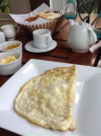The Change: bad greasy egg omelette