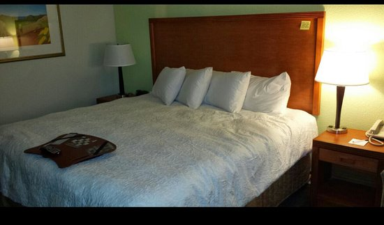 Hampton Inn Lake Havasu City : bed