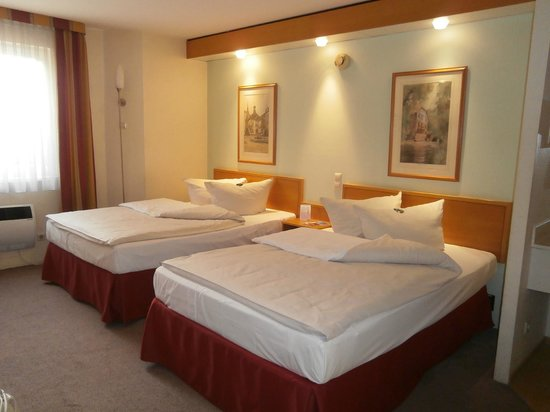 BEST WESTERN Hotel Bremen East: Шикарные, удобные кровати