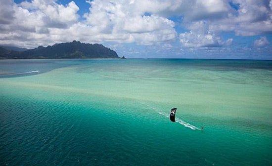 Paradise Bay Resort Hawaii : Kiteboarding