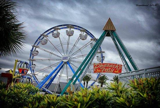 Kemah Boardwalk : Giant wheel