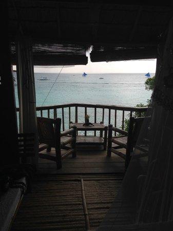 Spider House Resort: балкон номера на двоих. номер №3