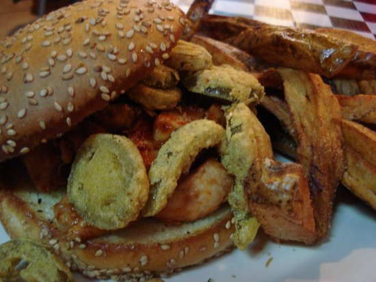 Ole Biloxi Fillin Station: Biloxi Blues sandwich