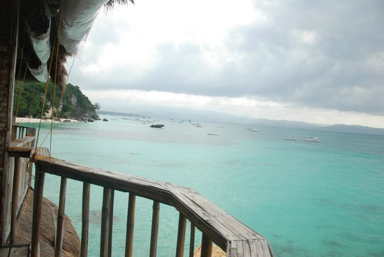 Spider House Resort: вид из номера на лагуну пляжа Динивид