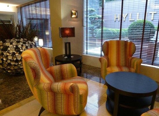 Hotel Hyllit: receptieruimte