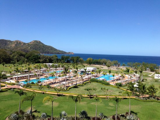 Hotel Riu Palace Costa Rica: View from our room