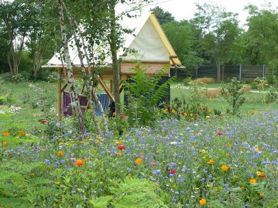 Neuf-Brisach, France: bivouacs du Camping Vauban