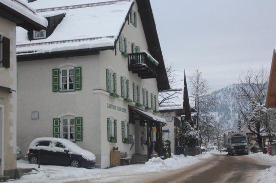 Gasthof Zur Rose: street