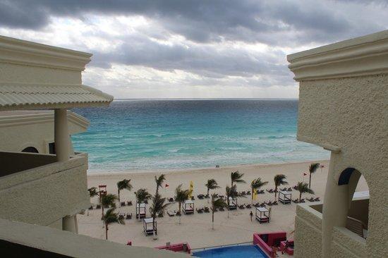 NYX Hotel Cancun : Вид из номера 6601