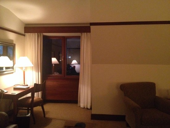 Hotel Alyeska: only window in junior suite- paid extra for this?!