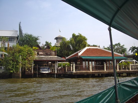Chakrabongse Villas: View of the Villas from the river