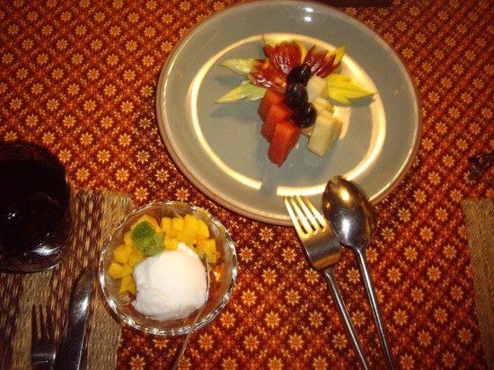 Chakrabongse Villas: Dessert