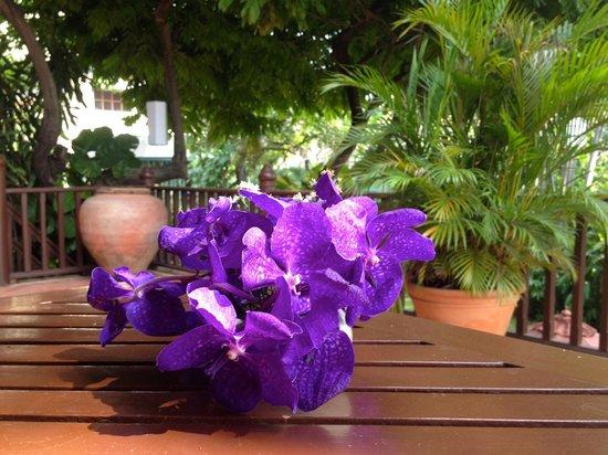 شاكرابونجس فيلاز: Fresh flowers in our room