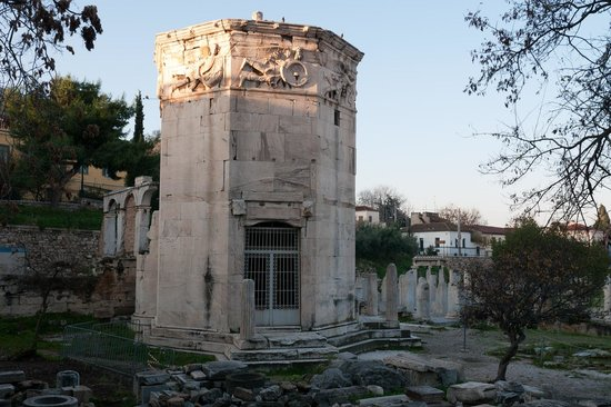 Roman Agora: Башня ветров