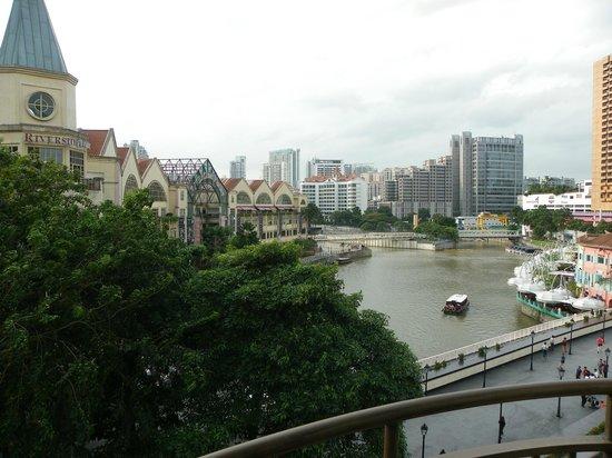 Swissotel Merchant Court Singapore: Vue sur Clarke Quay