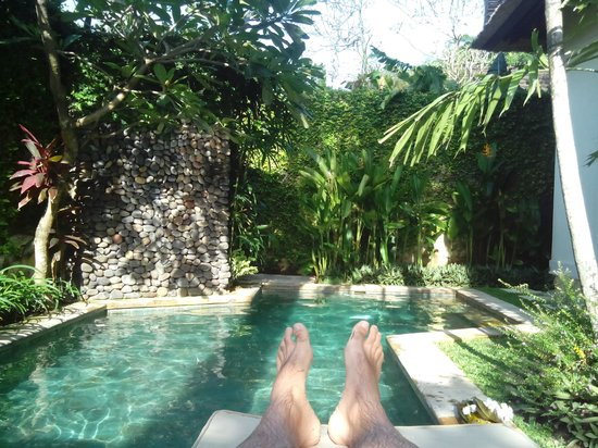 Jimbaran Bay Villas : swimming pool
