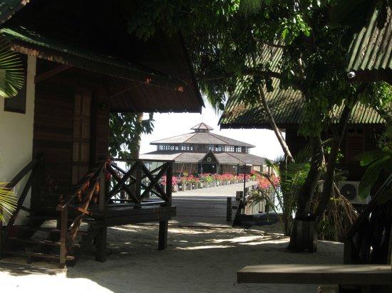 Lankayan Island Dive Resort: Som att komma ut ur djungeln och se en uppenbarelse.