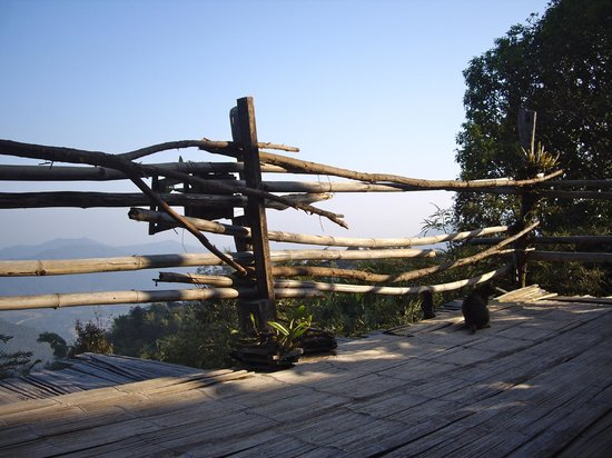 Lisu Lodge: View from Lahu