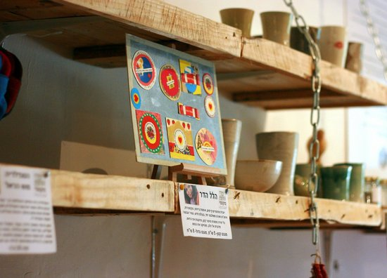 Distrito Norte, Israel: Magnets that are hand made by a local artist