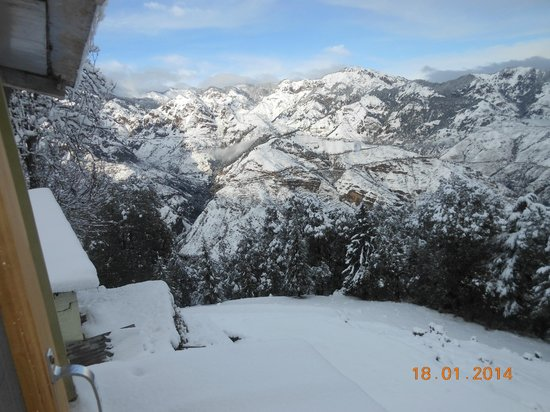 Snowview: View from Room