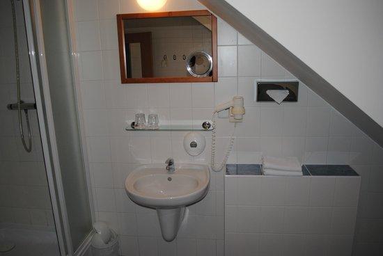 Cloister Inn Hotel: Bagno