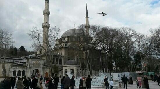 La mosquée Eyüp Sultan (Eyup Sultan Camii) : Eyüpsultan camii