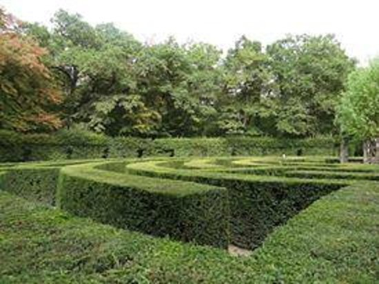 Schloss Chenonceau: Лабиринт