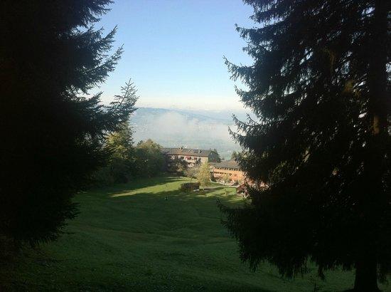 Gesundheitszentrum Rickatschwende: view from the hill
