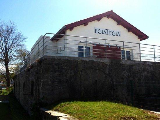 Egiategia : Chai avec la terrasse vue sur St Jean de Luz