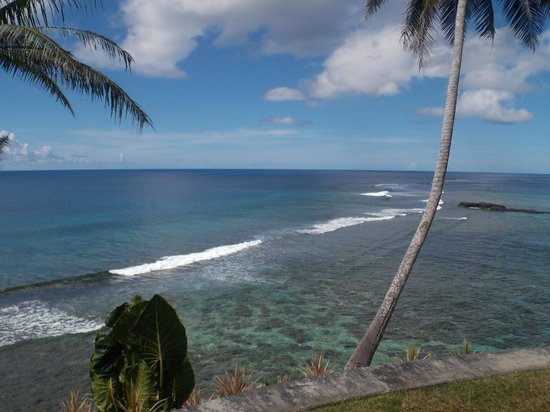 To Sua Ocean Trench: View from the cliff top