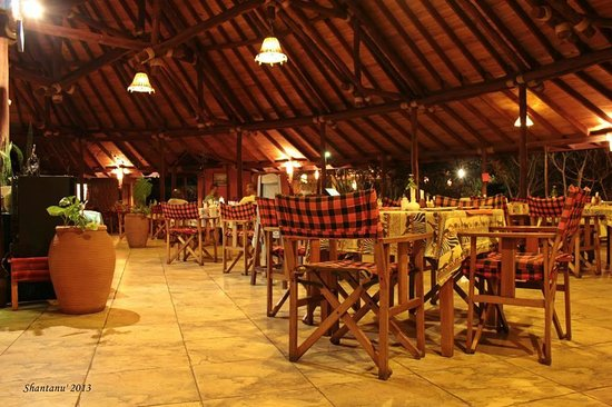 Sentrim Amboseli : Buffet area