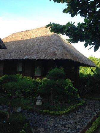 Bay Shore Huts : the villa