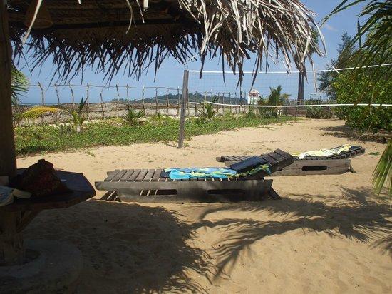 Stardust Beach Hotel : sunbathing